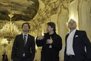 Ambassador Traina visits Schönbrunn Palace