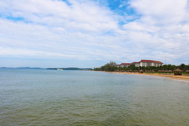 Vietnam coast line