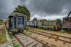Vestiges ferroviaire.