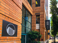 BLOCK 300 Office Building, Entrance, SW 2nd Ave, Portland, OR
