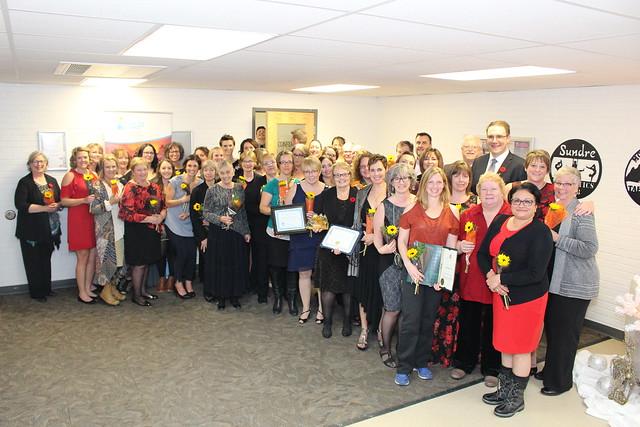 2018 Sundre Rhapsody Health-care Heroes Award celebration
