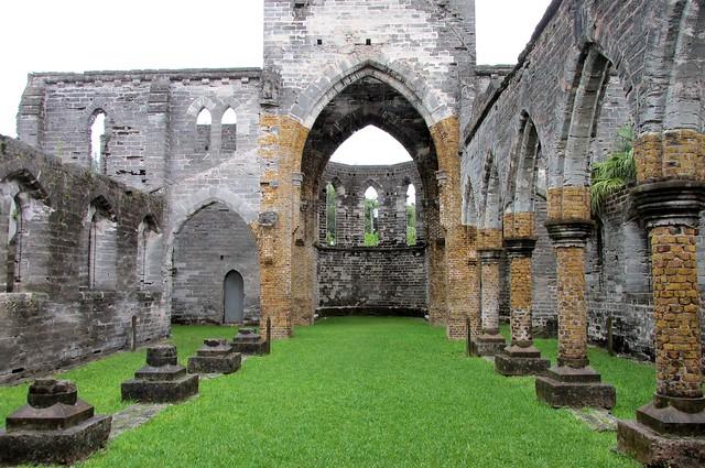 Bermuda Unfinished Church, Canon POWERSHOT SX160 IS