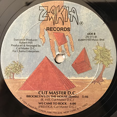CUT MASTER D.C.:SHE'S GOOD TO GO(LABEL SIDE-B)