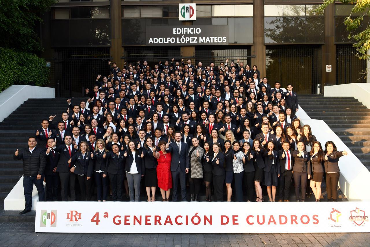 16/11/2018 - GRADUACIÓN DE LA 4TA GENERACIÓN DE LA ESCUELA NACIONAL DE CUADROS