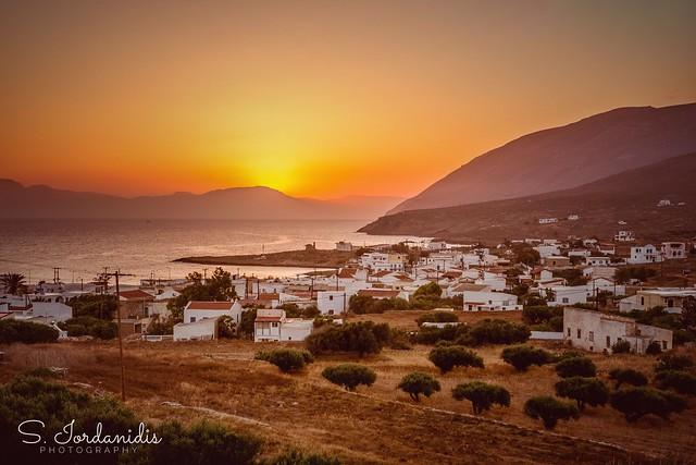 Sunrise on Kasos Island, Greece
