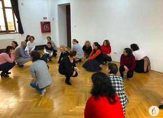 """Master Class """"Le théâtre en classe de FLE"""" à Buzău, Roumanie"""