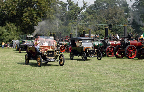 Stradbally 2018 - Model T parade.