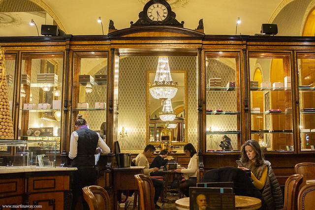 Dove mangiare a Budapest: Gerbeaud Café