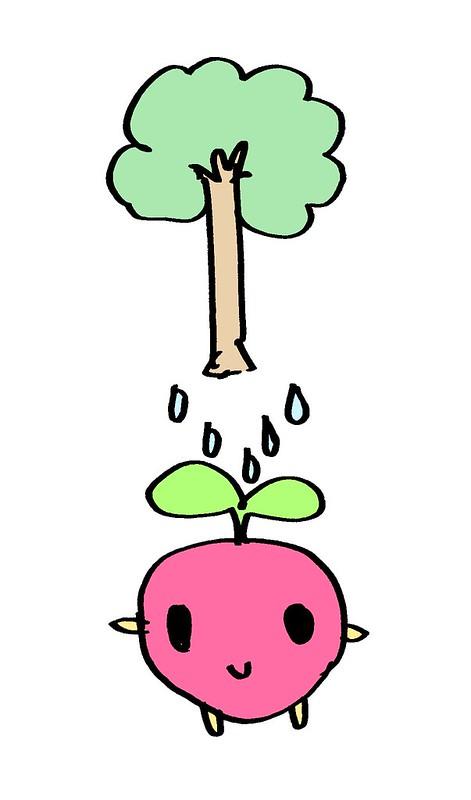 木としずくふたば