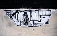 Pasted paper by  Erpi x Black Messenger [Lyon, France]
