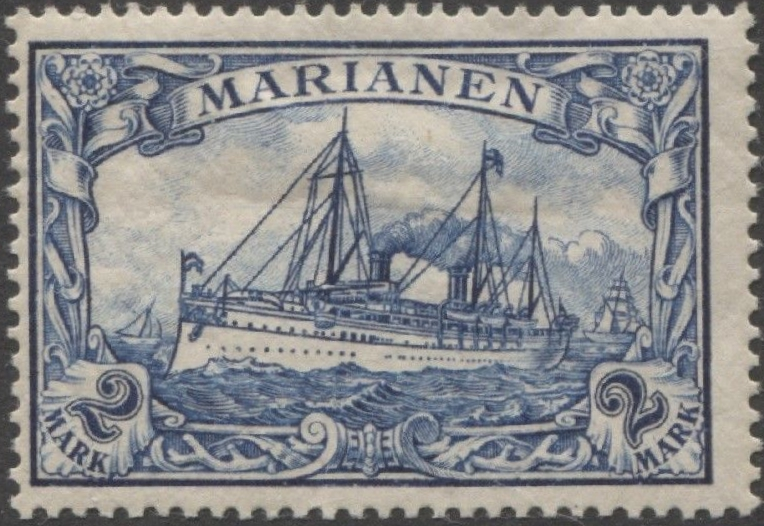 German Dominion of the Mariana Islands - Scott #27 (1901)