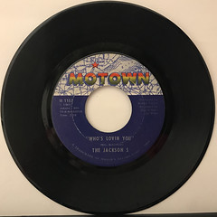 THE JACKSON 5:I WANT YOU BACK(RECORD SIDE-B)