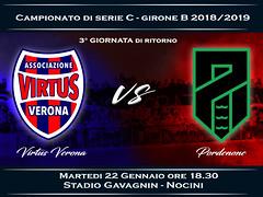 Virtus Verona - Pordenone