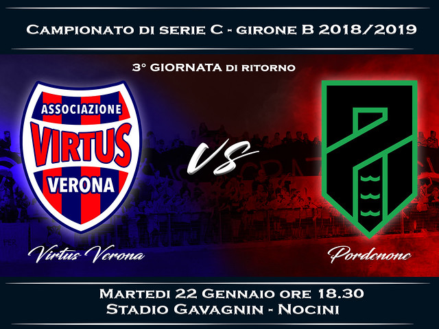 Virtus Verona - Pordenone 1-2 FINALE