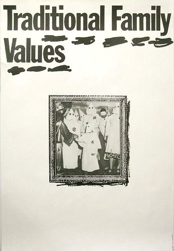 James Victore_Traditional Family Values 1992