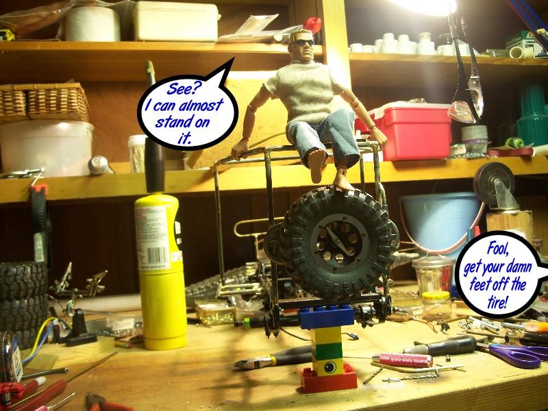 2 - Building an RC sixth scale Jeep 30956903927_b0f59eb95a_o