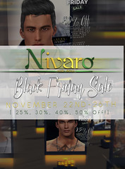 Nivaro Black Friday Sale Advert