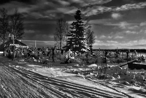 Lower Kalskag Cemetery BW