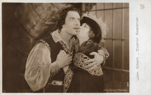 John Gilbert and Eleanor Boardman in Bardelys the Magnificent (1926)