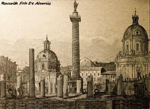 1823 2005 Foro e Colonna di Trajana a, di G. Cottafavi