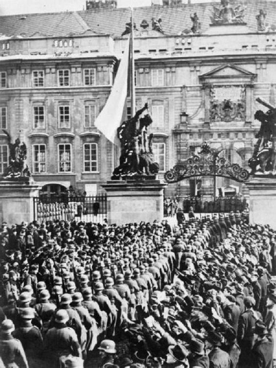 On March 15, 1939, Nazis Enter The Czech Capital