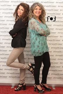 Tina Maurelli con la figlia