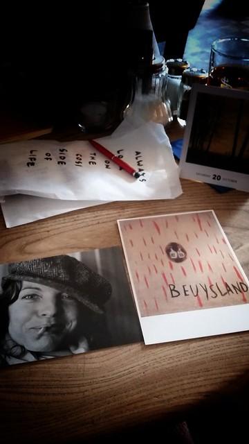 Postcards in the Café