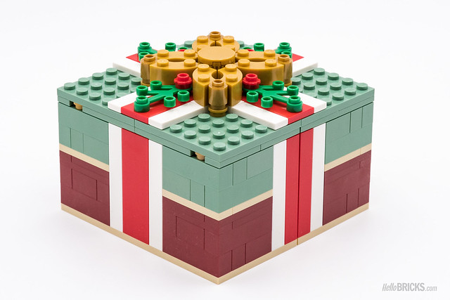 REVIEW LEGO 40292 Seasonal Christmas Gift Box