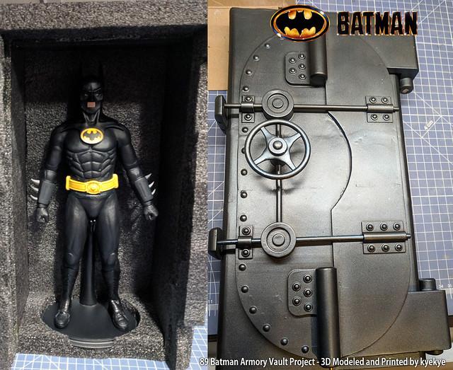 1/6 Scale 89 Batman Armory Custom (3D Print) 32195736098_75207109dd_z