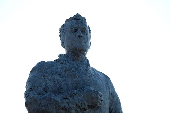 Postavljanje spomenika Franji Tuđmanu