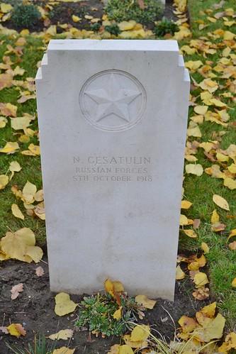 War grave - N. Gestatulin - Russian Forces