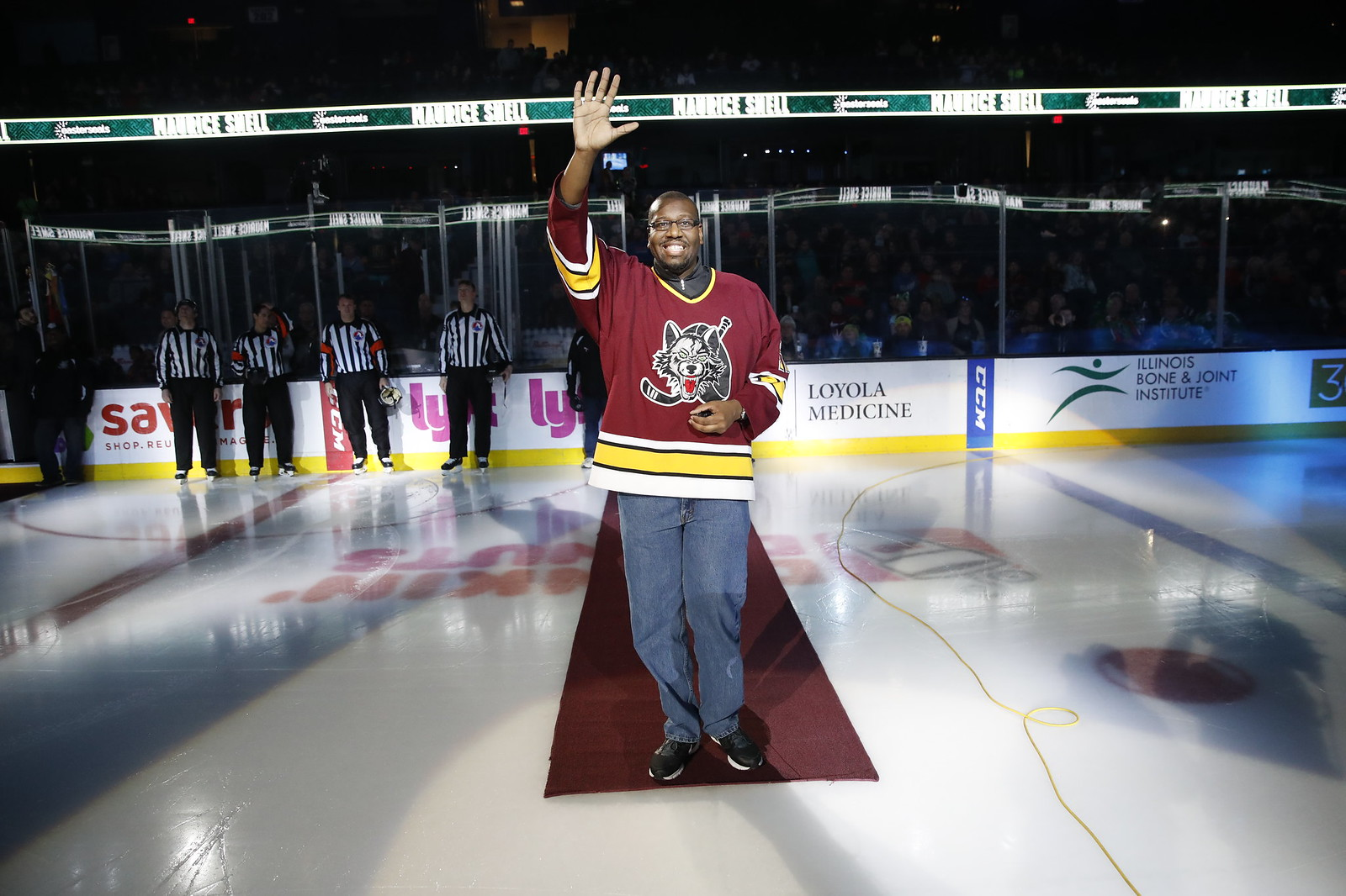 March 15, 2019 vs. Cleveland Monsters