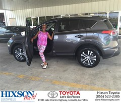 #HappyBirthday to Carolyn from Robin Christofiles at Hixson Toyota of Leesville!