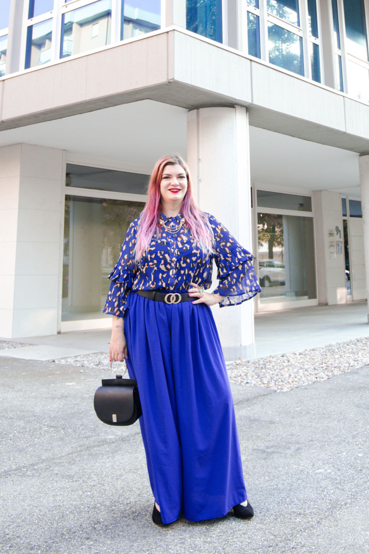 outfit curvy, plus size come indossare l'animalier (4)