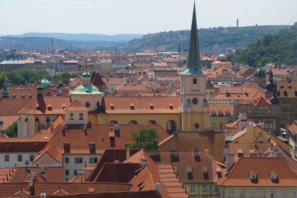 Еще один вид на Прагу