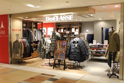ドゥクラッセ八重洲地下街店 メンズ売り場