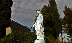 Pech-Luna : la Vierge du Calvaire. - Photo of Peyrefitte-sur-l'Hers
