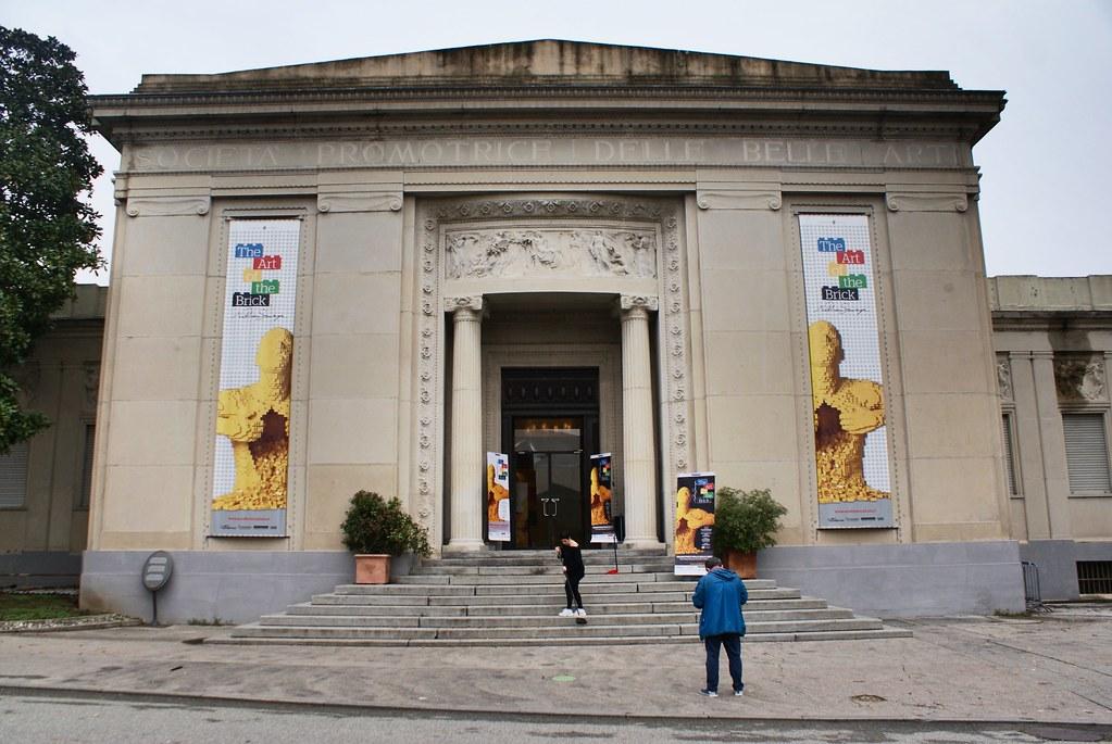 Musée des Promotions des Beaux Arts dans le parc Valentino à Turin.