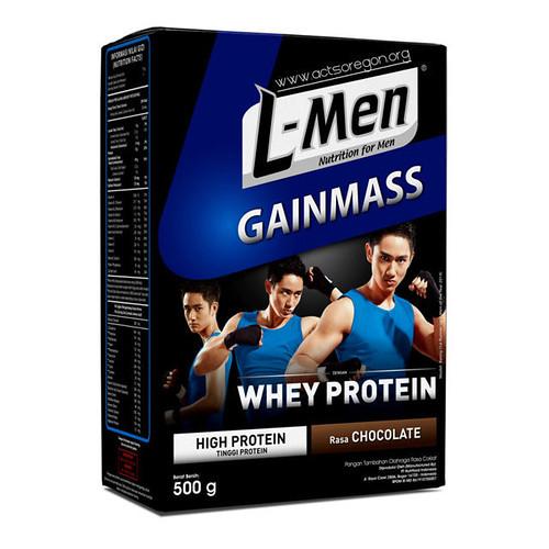 L-Men Gain Mass, Suplemen Otot dan Penambah Berat Badan