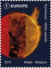 06 Belgie in de ruimte zegelE