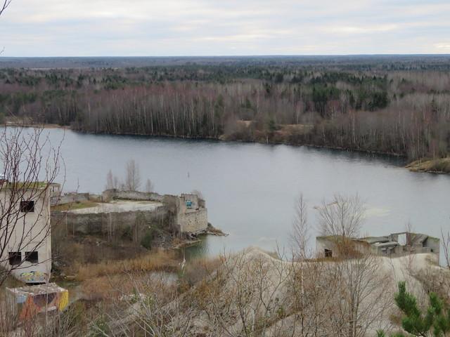 Rummu lubjakivikarjäär / Rummu limestone quarry, Estonia