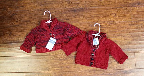 Heart Elbow Patch Cardigans