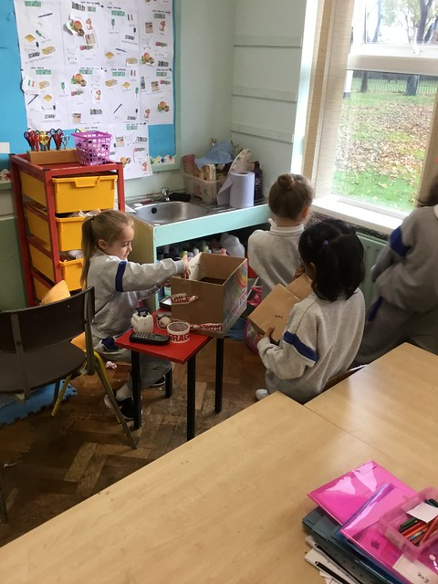 Post Office Aistear In Senior Infants
