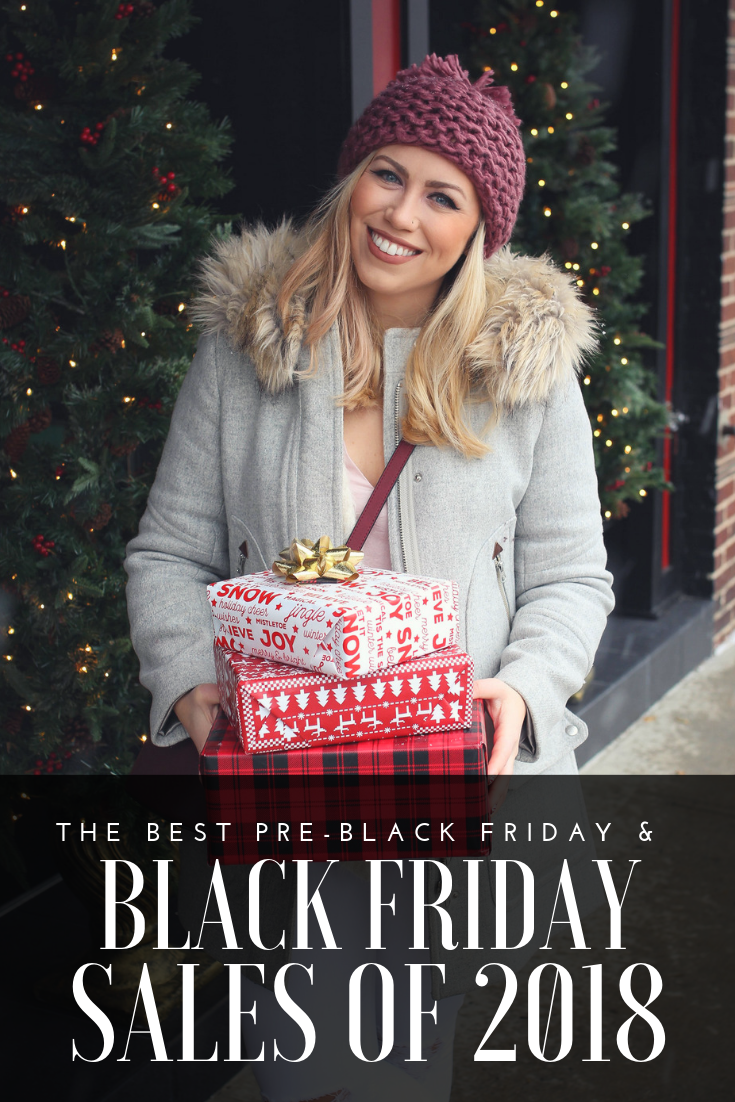 The BEST Pre-Black Friday & Black Friday Sales of 2018