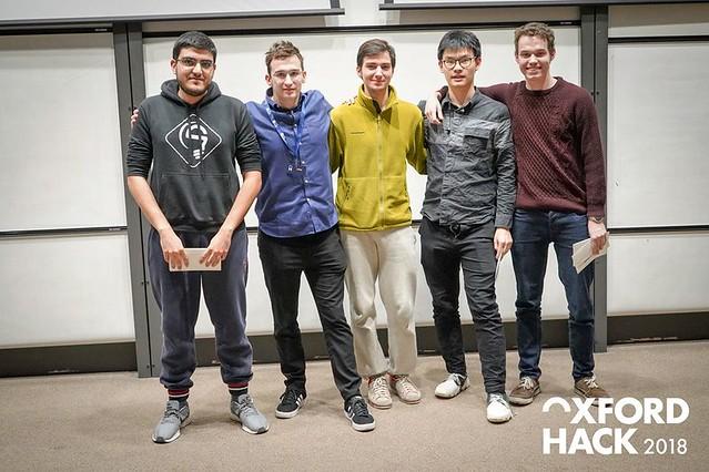 """hackathon """"OxfordHack 2018"""""""
