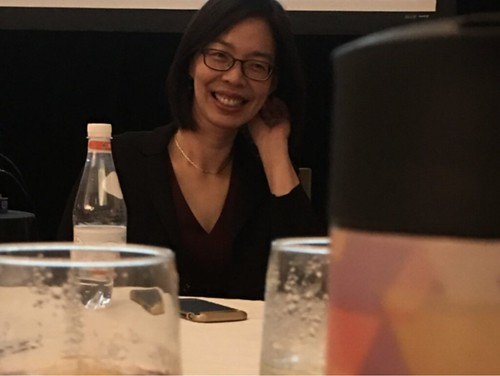 Sylvia Chou (NIH) at the MCSMN 2018 Annual Meeting
