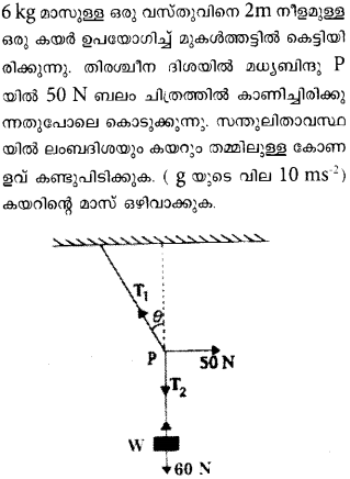 Plus One Physics Previous Year Question Papers and Answers 2018 45