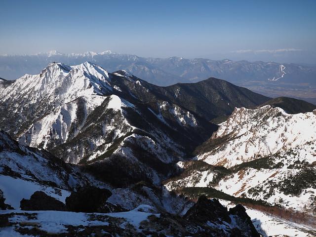 Photo:Mt. Gongendake and Tatsuba Canyon By prelude2000