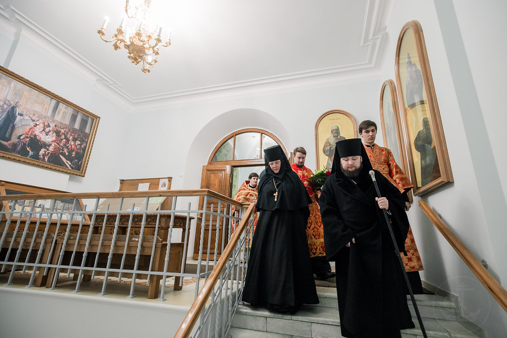 8 ноября 2018, Литургия в Иоанновском монастыре / 8 November 2018, Liturgy in the Ioannovsky Convent
