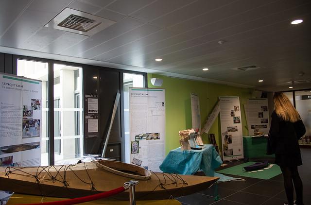 Exposition Projet Kayak, rectorat, 7 au 30 nov.